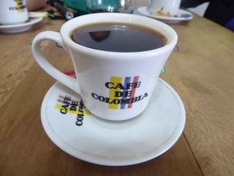 """il famoso """"tinto"""", caffè colombiano"""