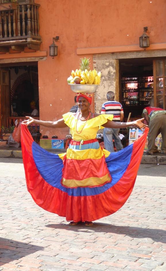 Venditrice di frutta di Cartagena
