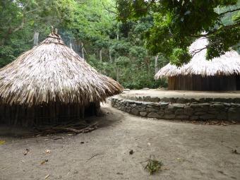villaggio della tribù kogui nella Sierra Nevada di Santa Marta