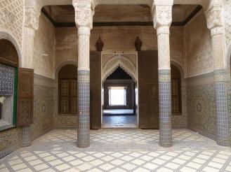 L'interno della Kasbah