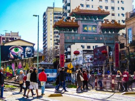 ingresso del Barrio Chino